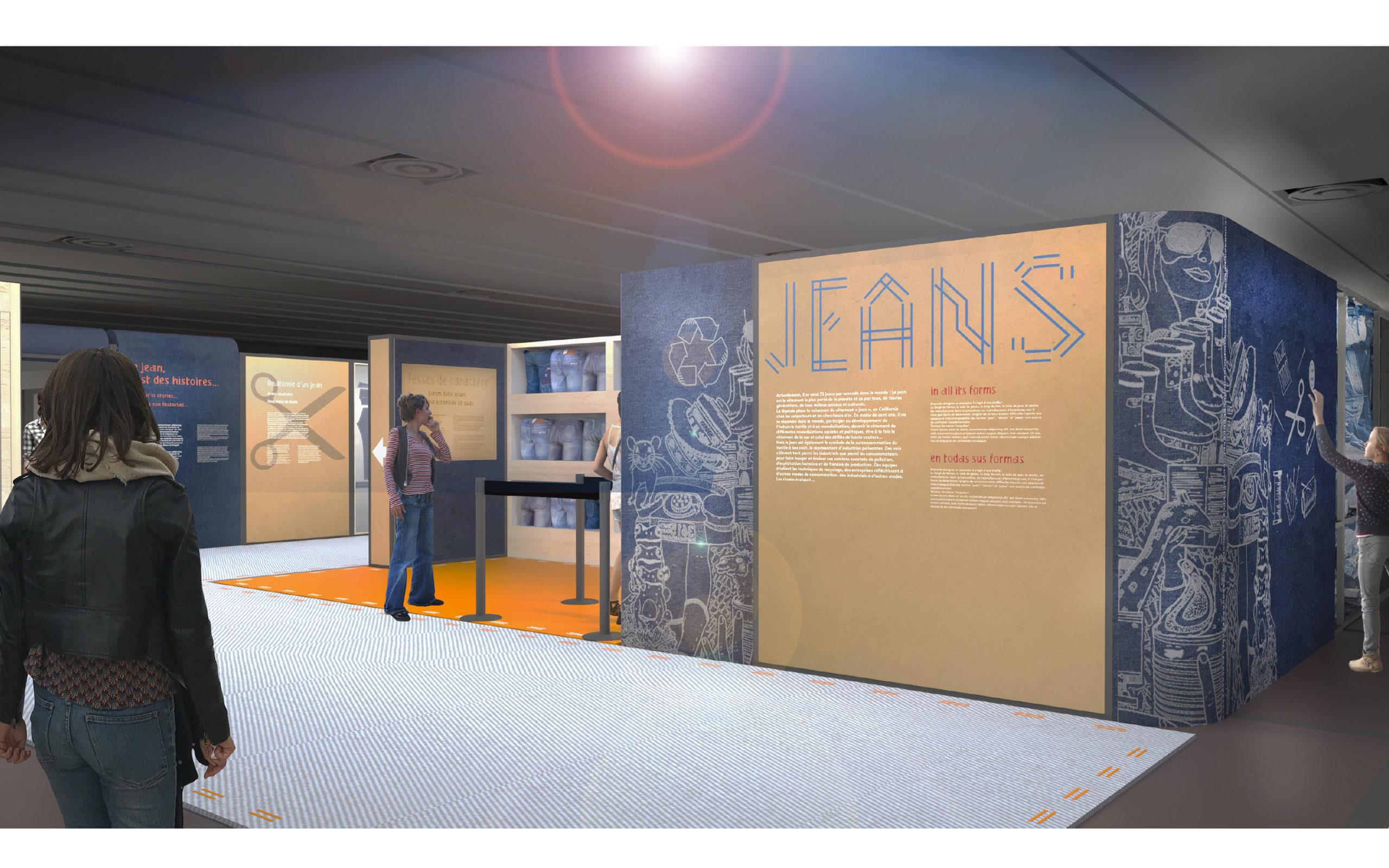Exposition JEAN à la Cité des Sciences et de l'Industrie