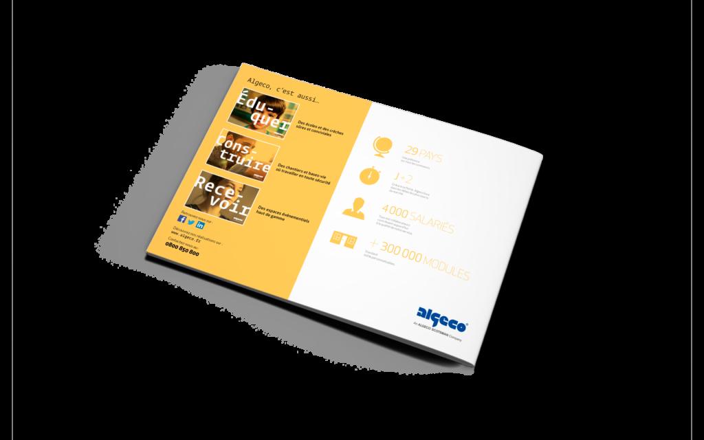 Brochure gamme Algeco